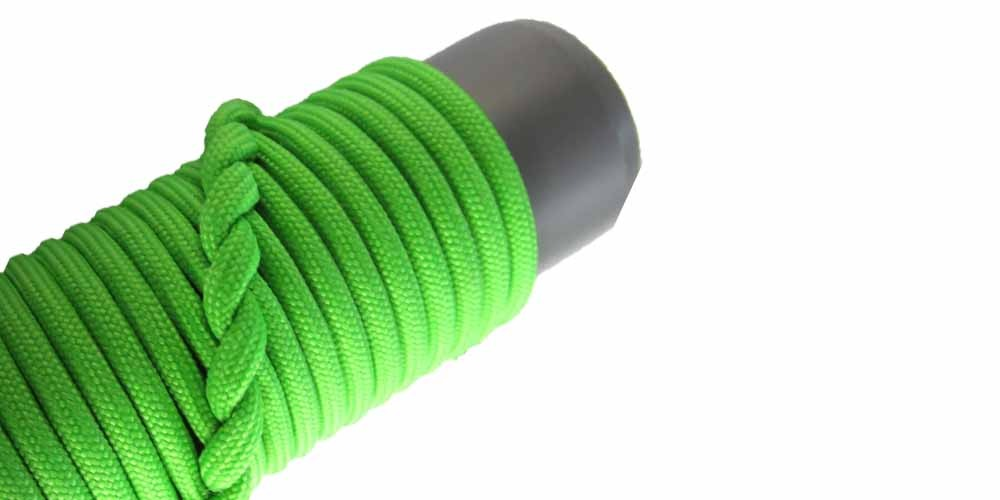 Helm cover Spiral hitching aka French hitching