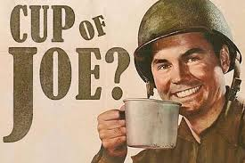 Cup of Joe idiom meaning
