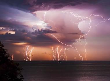 Lake Maracaibo lightning hotspot