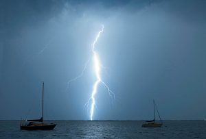 Lightning strikes and cruising yachts - how to avoid prepare manage