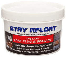 STAY AFLOAT INSTANT LEAK PLUG AND SEALANT