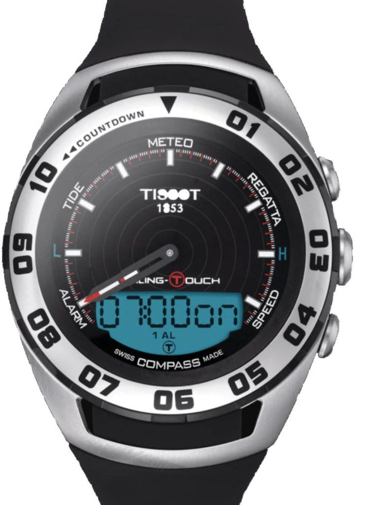 TISSOT SAILING TOUCH WATCH REVIEW