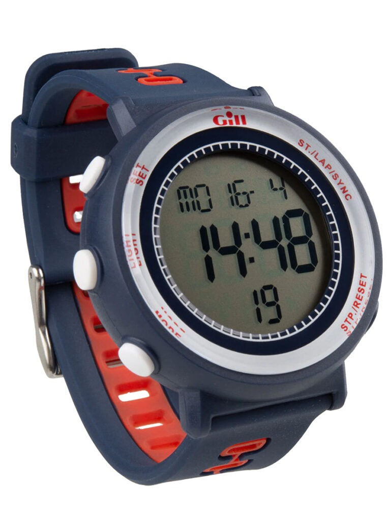 Gill Race Watch Black