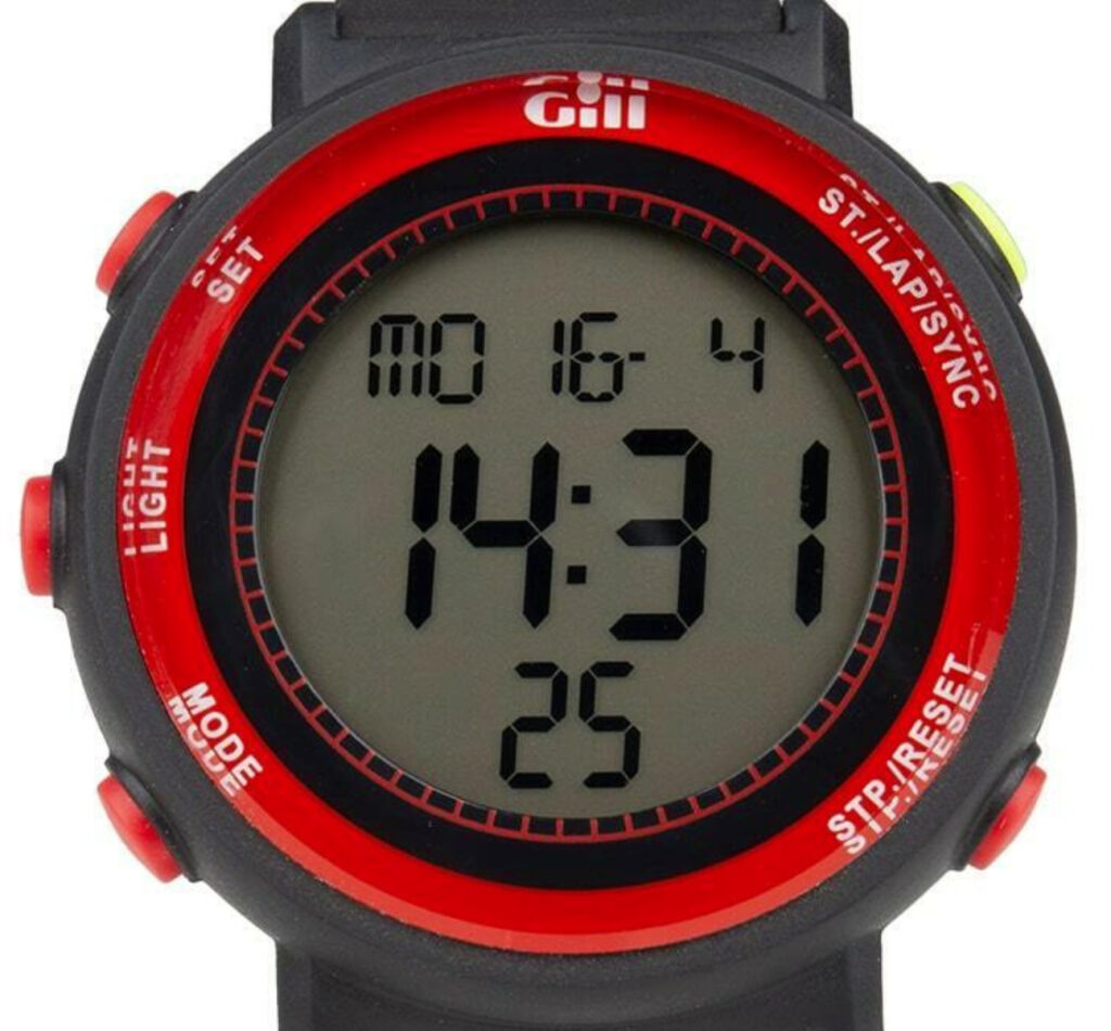 Gill Race Watch Review Basic Display