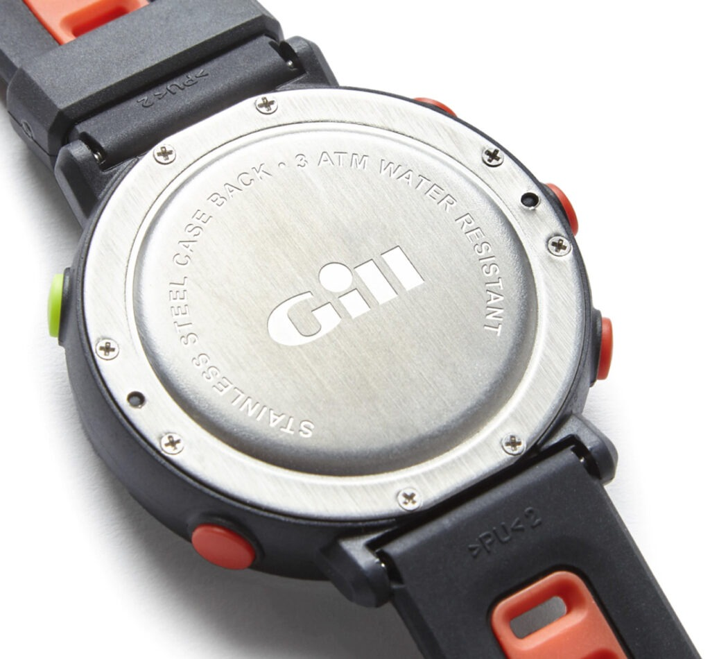 Gill Race Watch Review SS Back