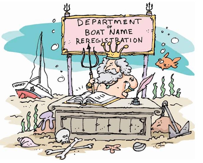 Renaming your boat