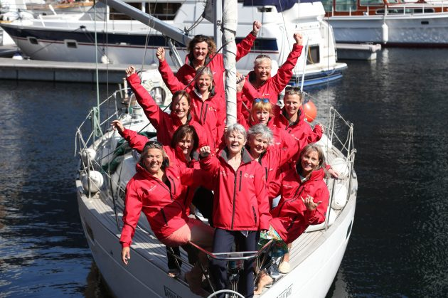 Women on boats - bad luck?